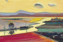 Wayne Thiebaud - Landscapes