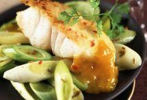 recette avec du poisson / recette entrée plat .... avec du poisson