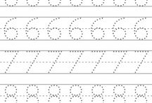 number tracing for kindergarten
