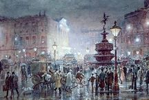 Victorian Piccadilly Circus