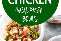 Italian chicken bowls