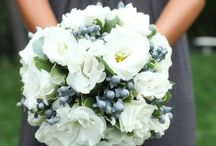 White bouquets / All white wedding flowers
