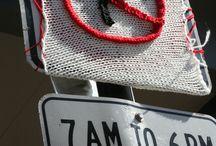 Art - Yarnbombing  / guerrilla knitting & yarnbombing