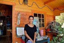 Kreativ Dorf / Hier wird gemalt, gebastelt, gewerkelt und es kommen immer einzigartige Kunstwerke heraus