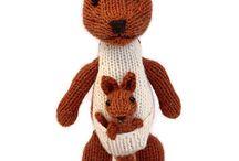 knit stuffies
