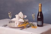 Déjeuner et Dîner au champagne
