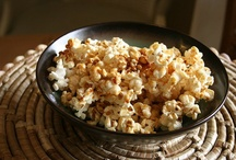 Popcorn / Healthy popcorn ideas.