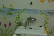 RSE Responsabilidad Social Empresarial / Responsabilidad Social pintando Murales para Debra Fundación