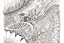Zentangle & Coloring