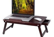 table laptop wooden
