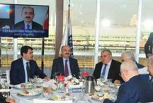 Sağlık Bakanı, İkitelli Organize Sanayi Bölgesi'nde işadamlarıyla biraraya geldi.