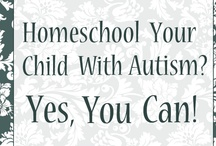 Home Schooling / Sometimes school is a very difficult place for children with autism.  It isn't for everyone, but many families of autistic children have found success in homeschooling.  Here are some resources, including some sites that provide learning materials that could supplement school learning at home.