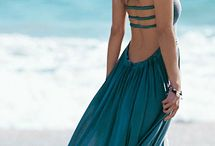 Dress / Winter, summer, long, beautiful, elegant dress,