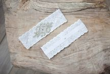 Custom Bridal Garters made exclusively for Sophia's