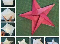 Étoiles / Origami