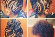 Nappy hair Coiffure <3 / avoir des idées de coiffure pro
