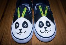 Shoes - Animals / animals patterns tekkies