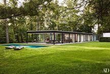 case moderne / case unifamiliari o ville di design minimalista