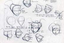 Model sheets / character design