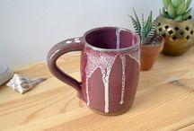 Mugs, Mugs, Mugs / Coffee mugs, vintage, versatile mugs as planters