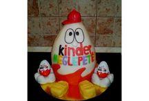 Kinder tojás torta