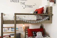 L shaped bunks