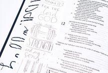 Bible Journaling / by Martha Thomas