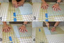 Machine quilting / Patterns