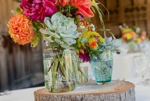 Table decorations / flowers