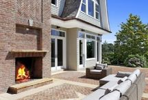 Outdoor Fireplaces / Magnificent Home Fireplaces