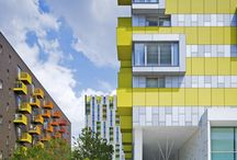 Architecture and Colour / Architecture using colour in amazing ways