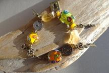 Bracelets by Yeelen Spirit / https://www.etsy.com/listing/126774896/color-light?