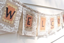 Shabby and Chic Banners