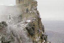 Castle reference / Medieval castle reference for drawing, painting, 3d etc.