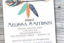 Invitations Tribal