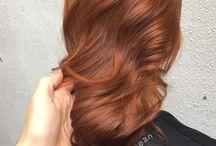 Tons de cabelos ruivos