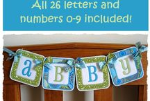 fonts and banner letters / by Terry Buckley