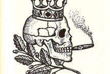 teschio con corona