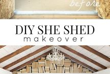 she shed/studio