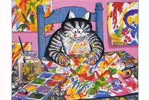 i love Kliban cats