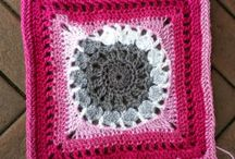 Crochet Along 2015 Granny Square Blanket
