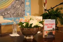 Factory Man Book Signing and Reading, 8/5/2014 / These are some great pictures from the book signing with Factory Man author Beth Macy and John D. Bassett III on August 5, 2014.  The event took place at St. John's Episcopal Church in Norfolk, VA and it was a sold out event!  Proceeds from the evening went to benefit St. John's community outreach programs.  Special thanks to photographer Chris Hale for sharing these pictures.