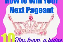 Pageant World / My pageant prep vision board and resource board
