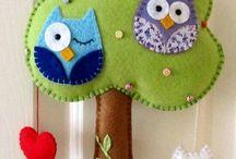 baykuşlu ev dekoru
