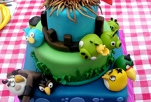 Angrybirds cakes
