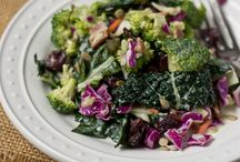 Greens  / salads and healthy options  / by Wendy Easter
