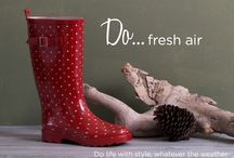 Do life with style, whatever the weather / Life doesn't stop when the rain starts! How do you wear your gorgeous gumboots?