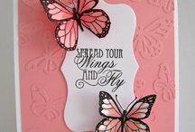 Cards - Butterflies / by Christine DePol