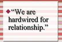 Happy, passionate, present relationships