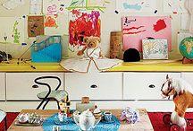 Διακόσμηση με παιδικές ζωγραφιές